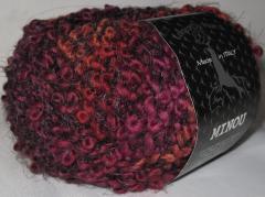 терракотово-бордово-розово-коричневый с пепельными усиками