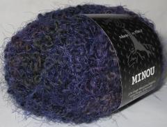 фиолетово-коричнево-тёмно зелёный с фиолетовыми усиками
